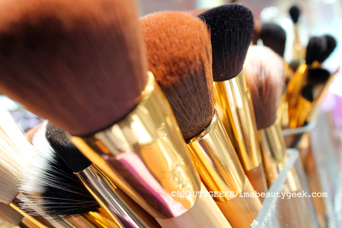 TIFF media lounge_Tarte makeup brushes