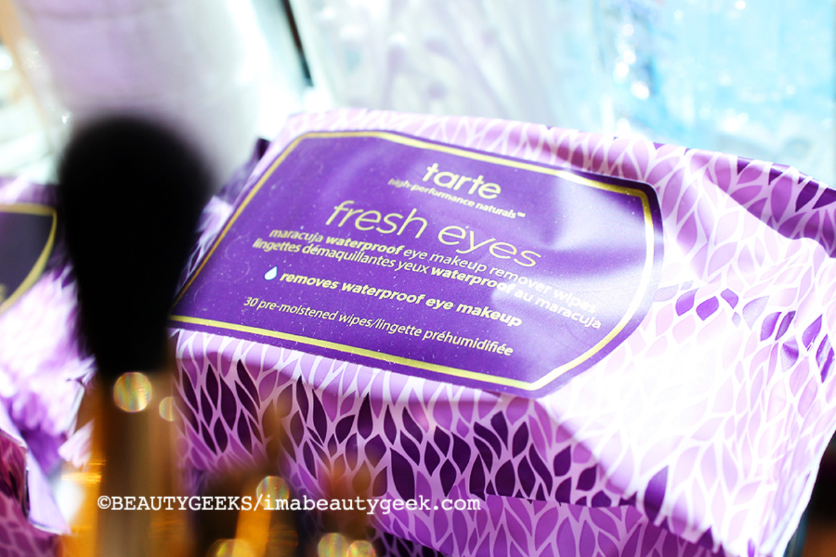 TIFF media lounge_Tarte Fresh Eyes makeup remover wipes