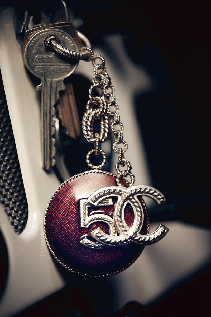 Chanel No 5 The One That I Want_keychain