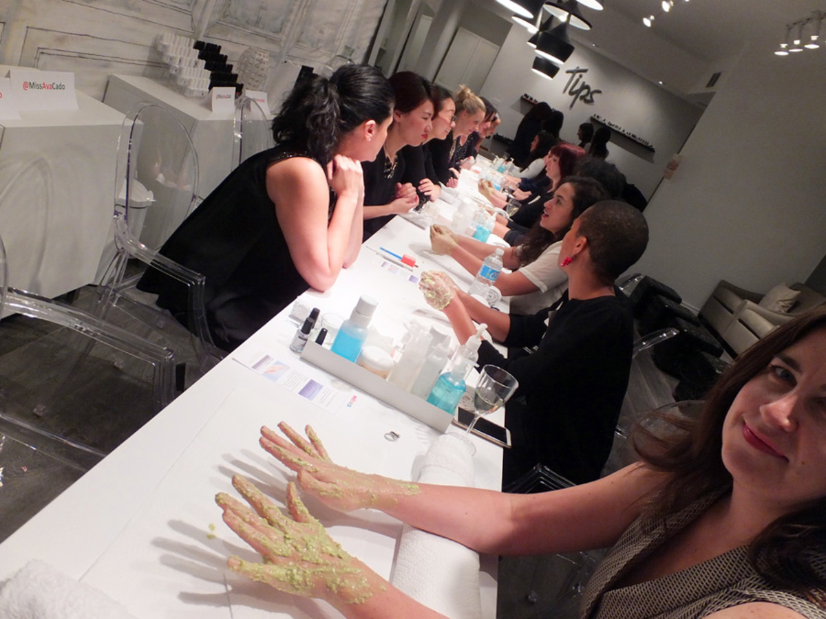 avocado beauty treatments_Avocados from Mexico_avocado hand masks_LuvMexAvocados_Tips Nail Bar