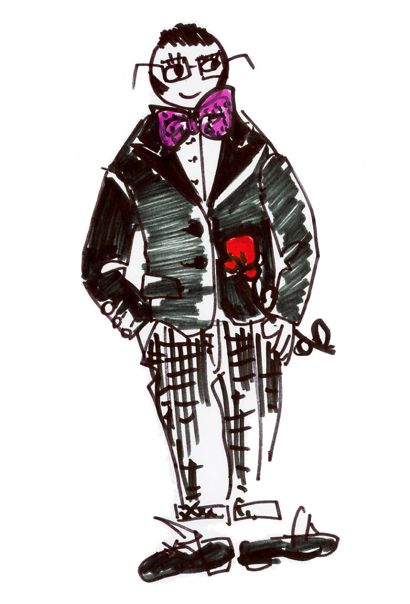 Lancome_x_Alber_Elbaz_illustration