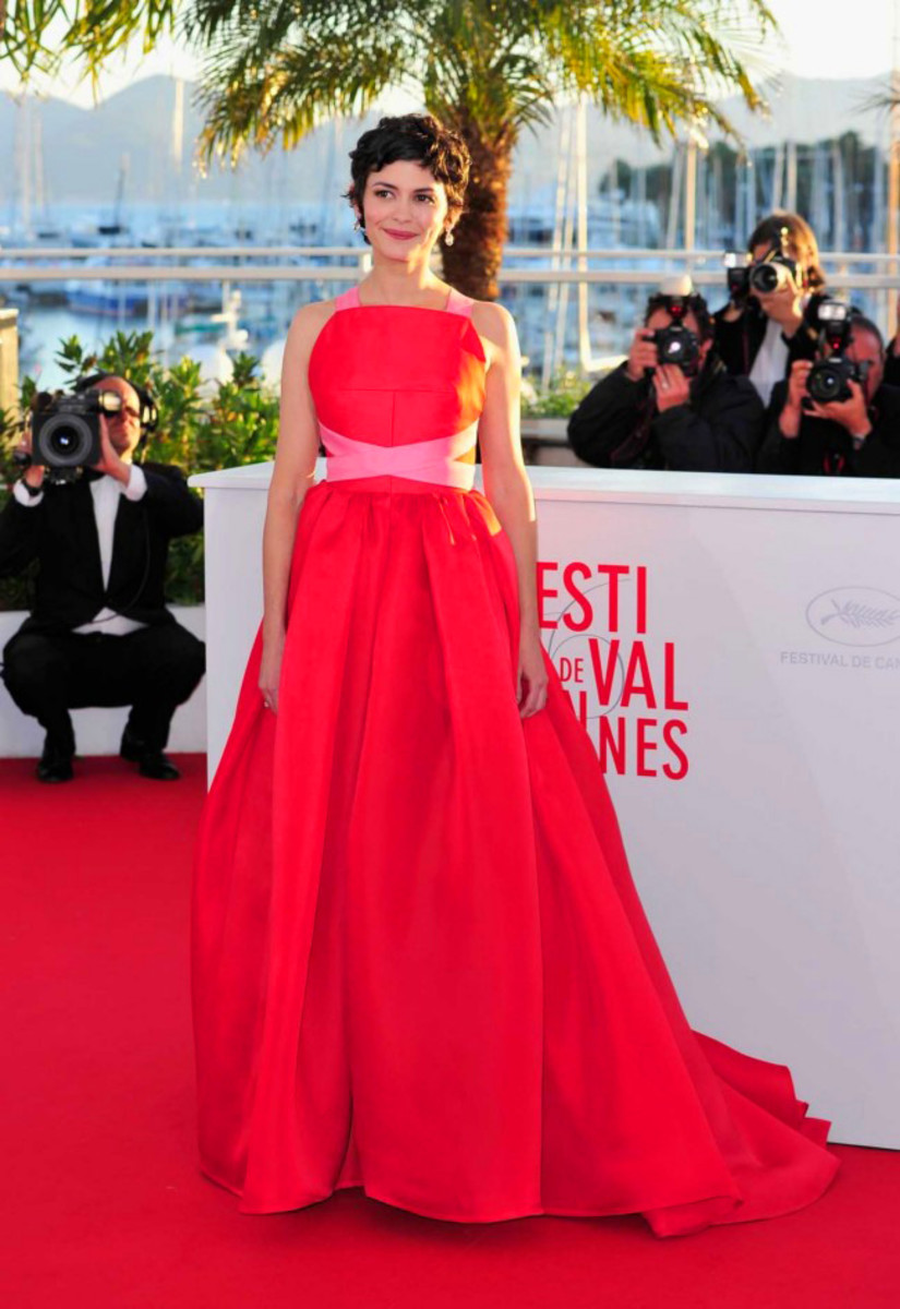 Audrey Tautou_Lanvin_Cannes2013