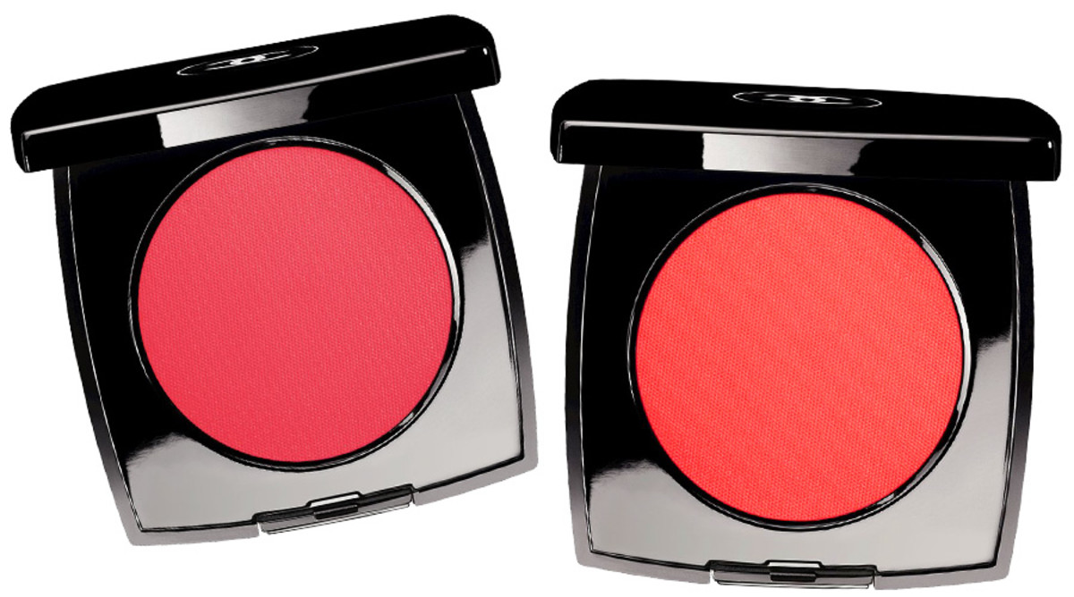 Chanel Spring 2014 blush_Chanel Intonation Cream Blush coral pink_Chanel Chamade Cream Blush tangy rosy red_composite image by BEAUTYGEEKS imabeautygeek.com_individual images courtesy of Chanel.jpg