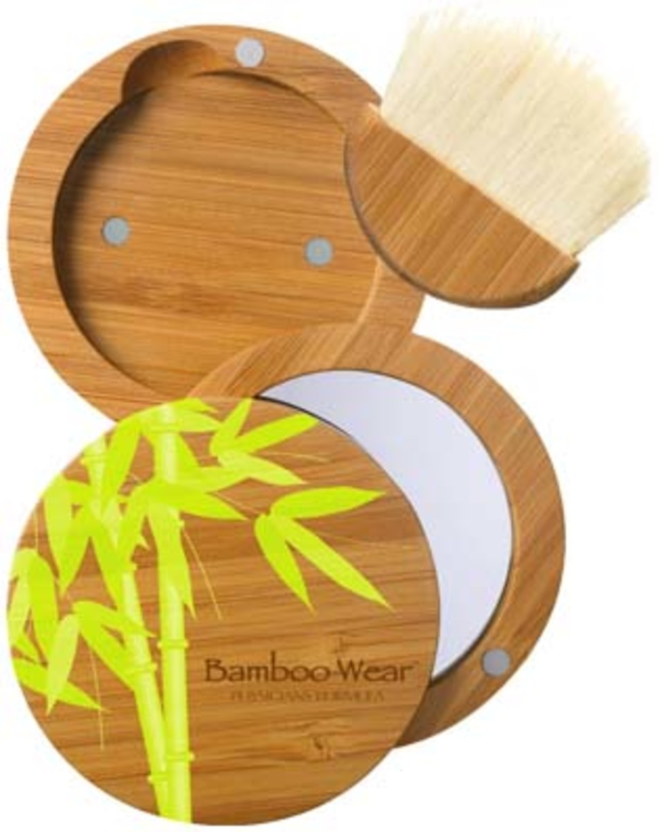 Physicians Formula Bamboo Wear refillable compact