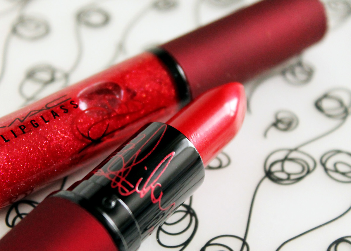 MAC Viva Glam Rihanna Lipstick and MAC Viva Glam Rihanna Lipglass