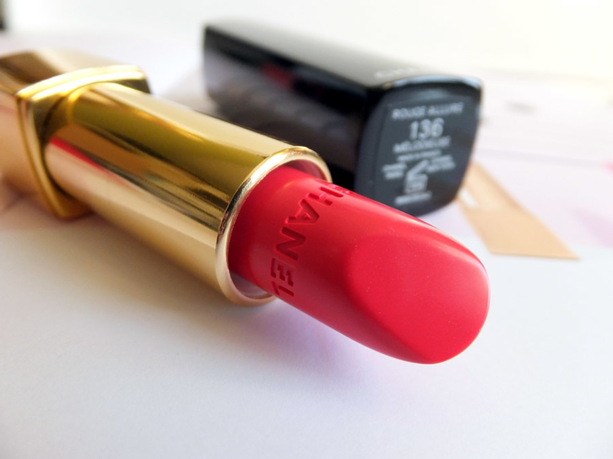 Chanel Spring 2014 lipstick_Chanel Rouge Allure Melodieuse 136 candy red