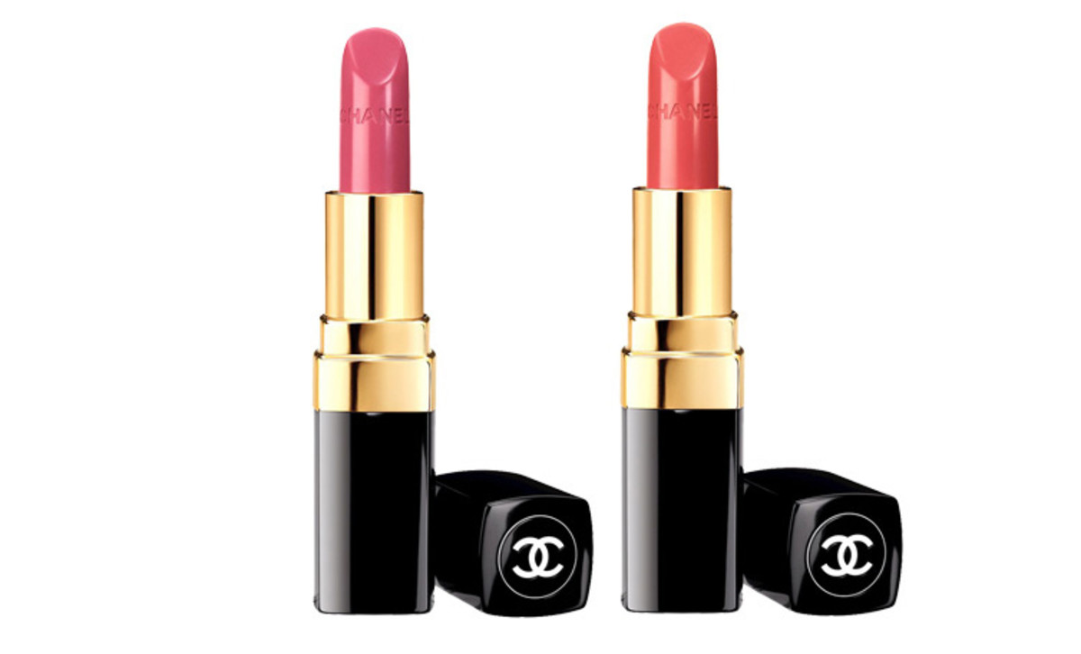 Chanel Spring 2014 lipsticks_Chanel Rouge Coco Dedicace_Chanel Rouge Coco Triomphe