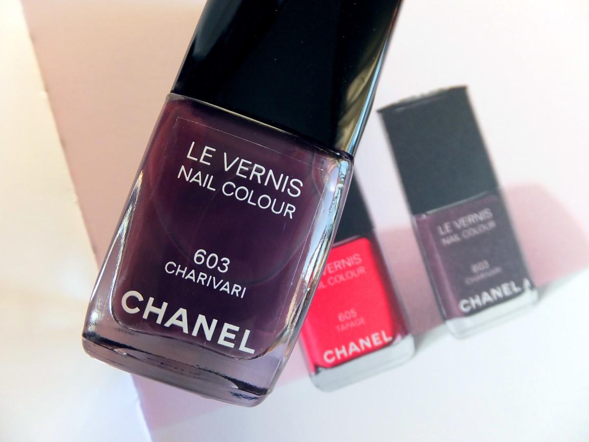 Chanel Spring 2014 nails_Chanel Charivari 603 nail colour_Chanel Tapage 605