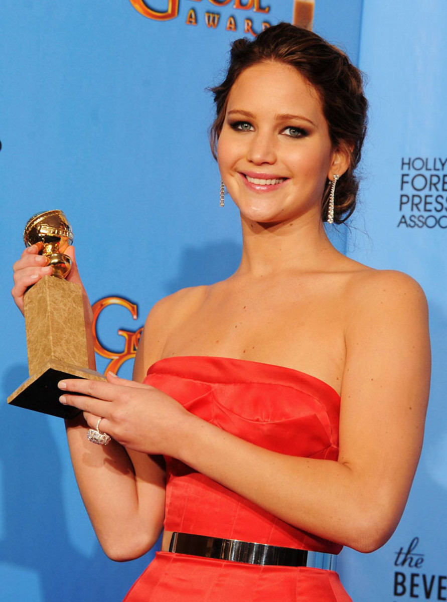 Jennifer Lawrence_golden globes 2013