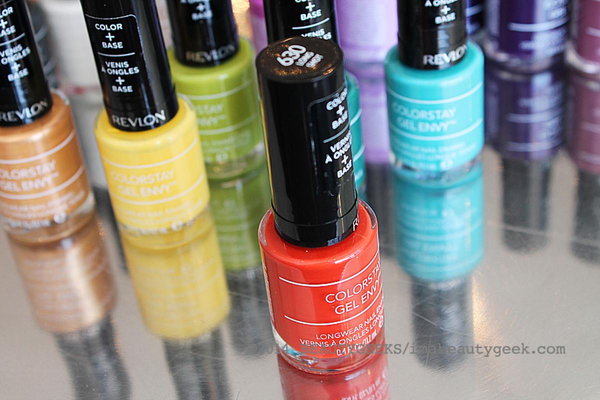 Revlon ColorStay Gel Envy nail polish_600 Long Shot orange