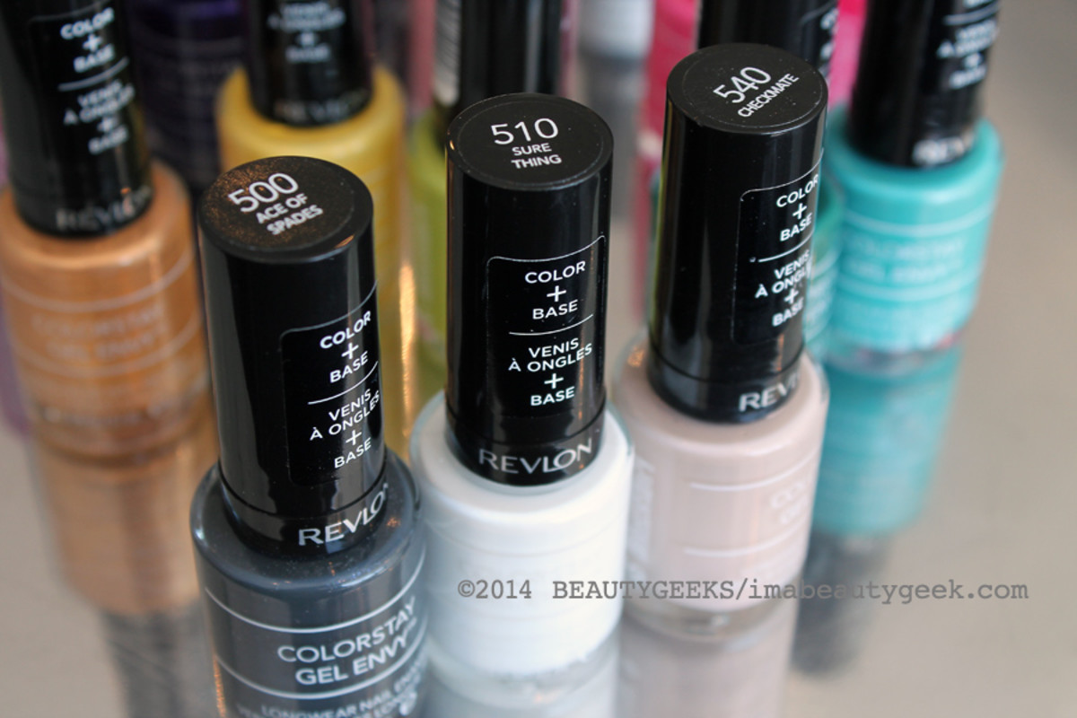 Revlon ColorStay Gel Envy nail polish_500s