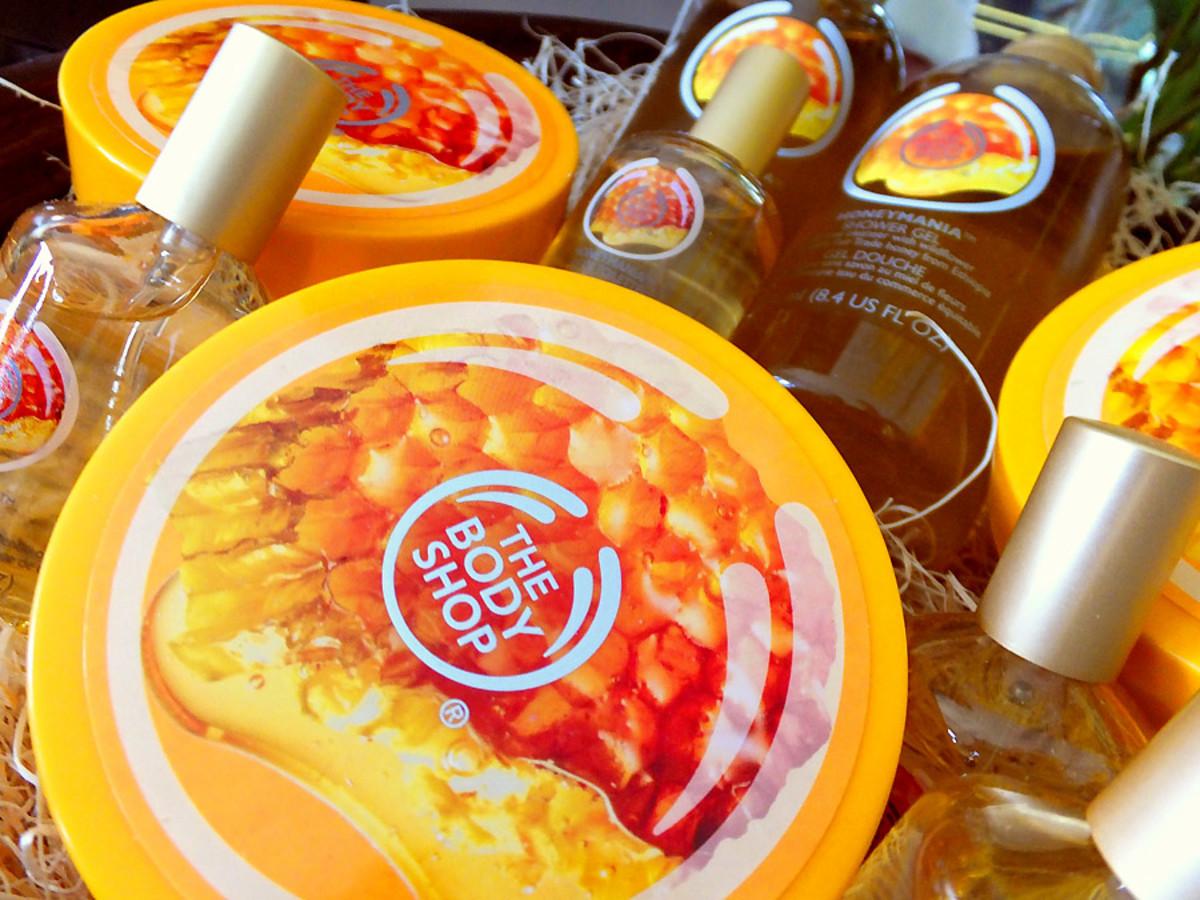 The Body Shop Honeymania collection