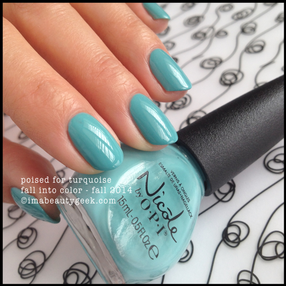 Nicole by OPI Poised For Turquoise Fall 2014