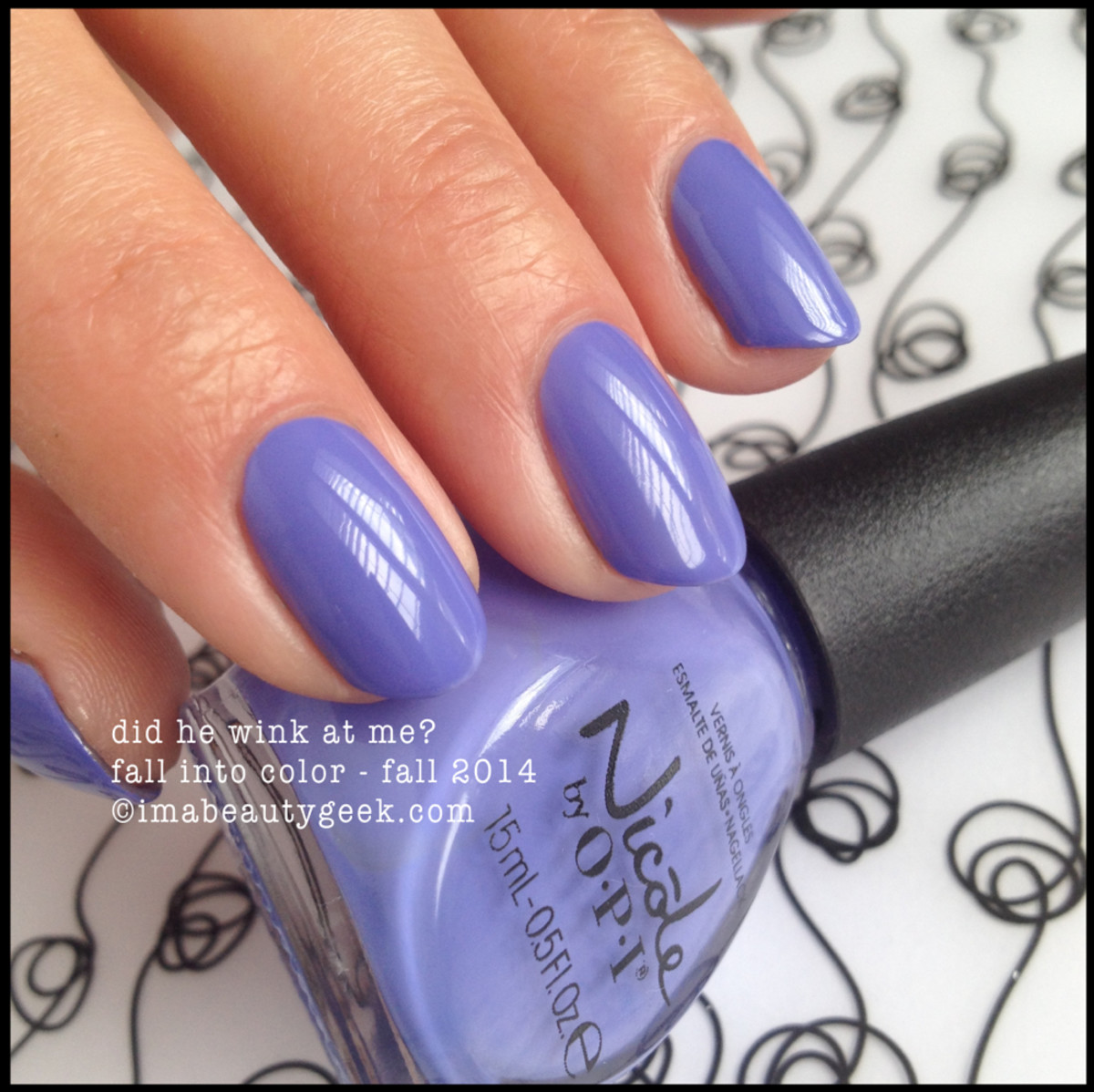 Nicole by OPI Did He Wink at Me Fall 2014