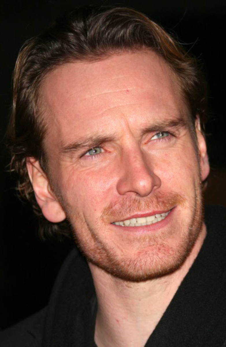 Michael Fassbender after teeth whitening_Photoshop
