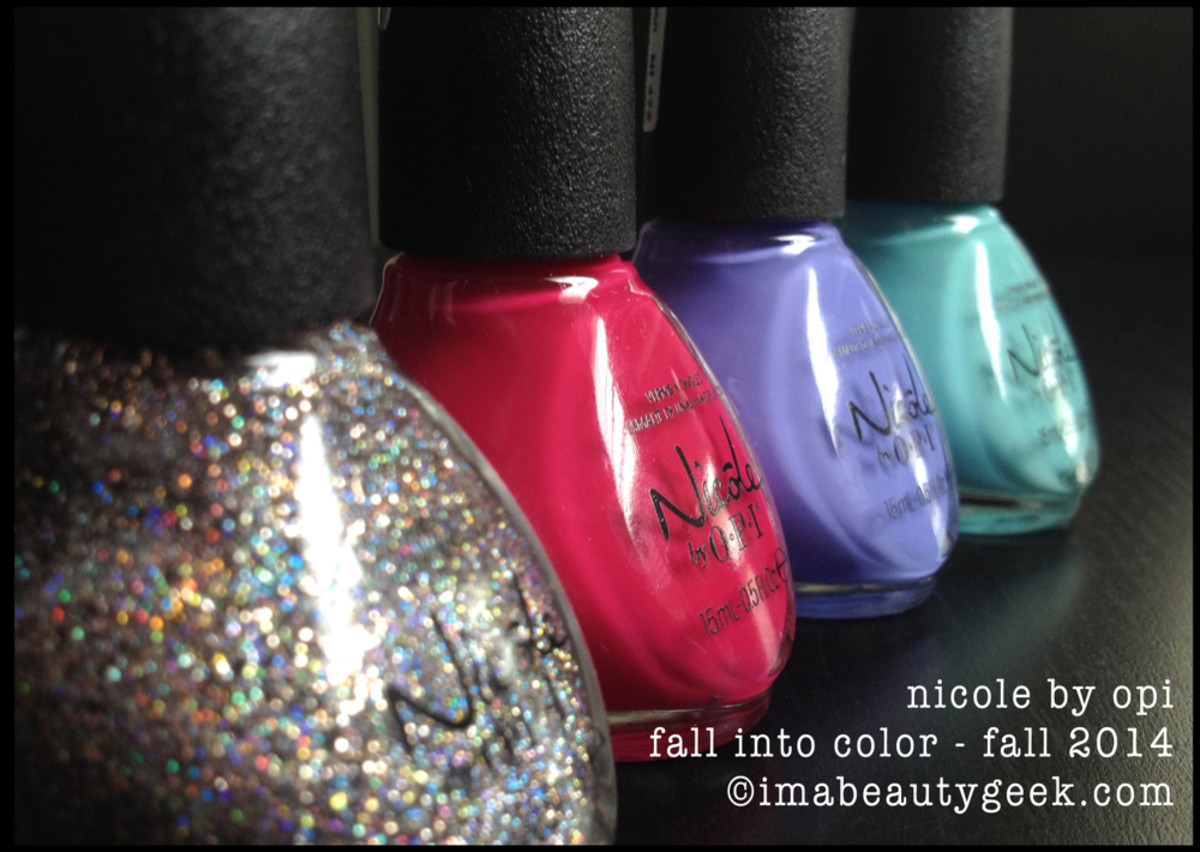 Nicole By OPI Fall into Color Fall 2014