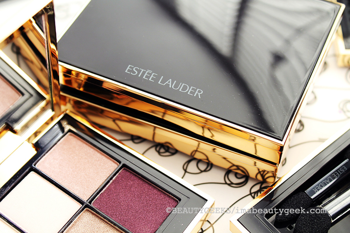 new Estee Lauder Pure Color Envy 5-Color EyeShadow palettes