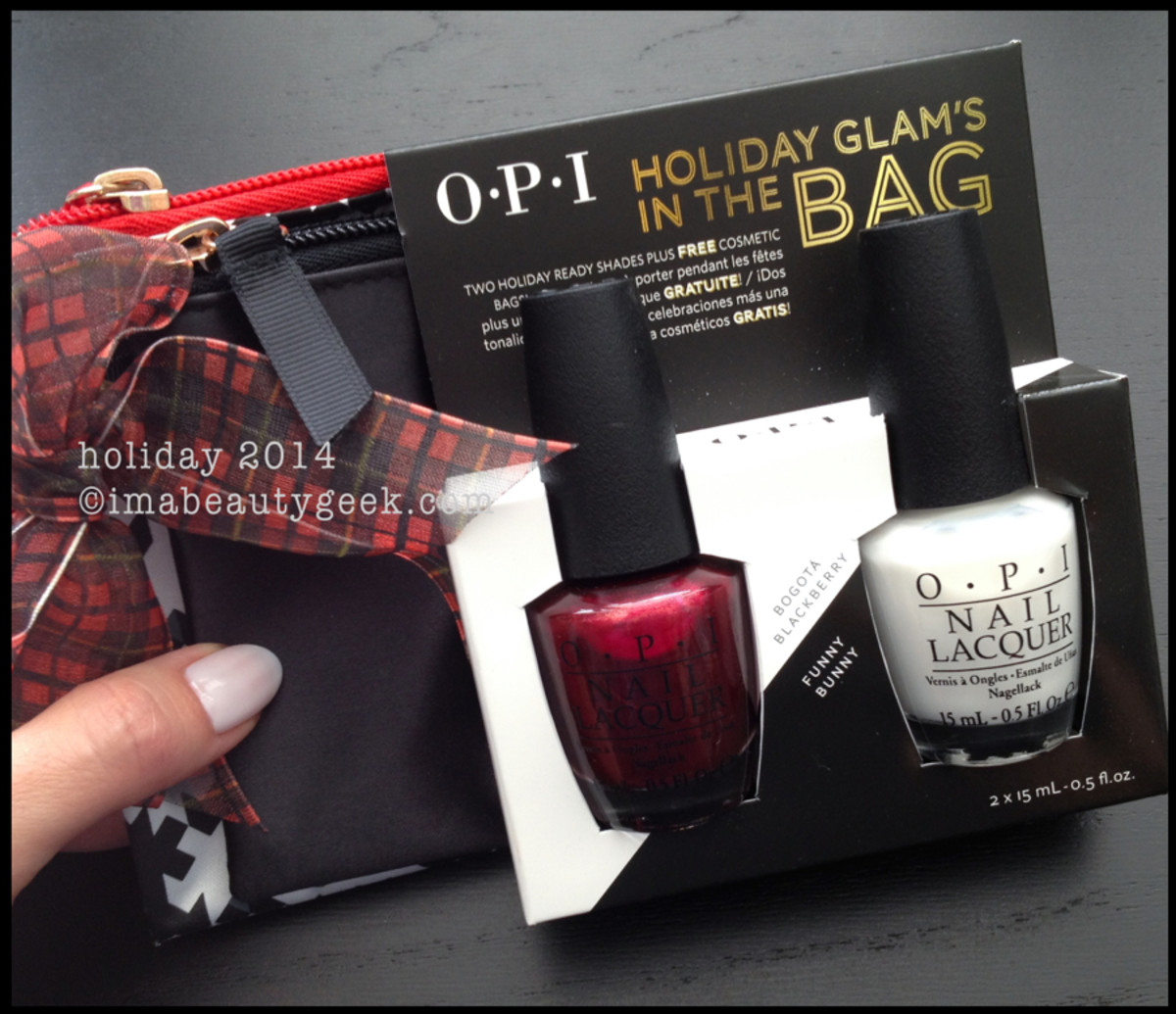 OPI Holiday 2014 Glams in the Bag