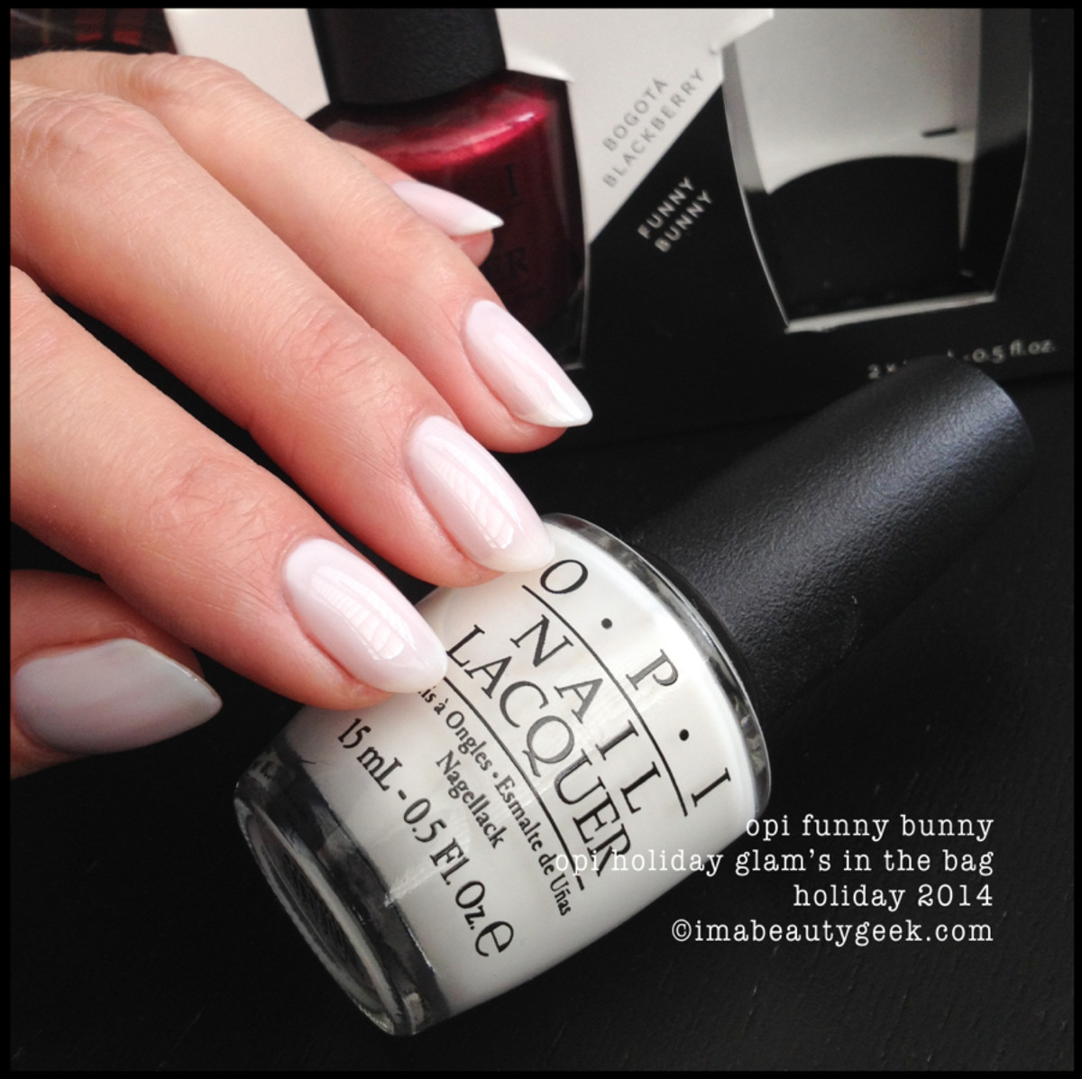 OPI Holiday 2014 Funny Bunny