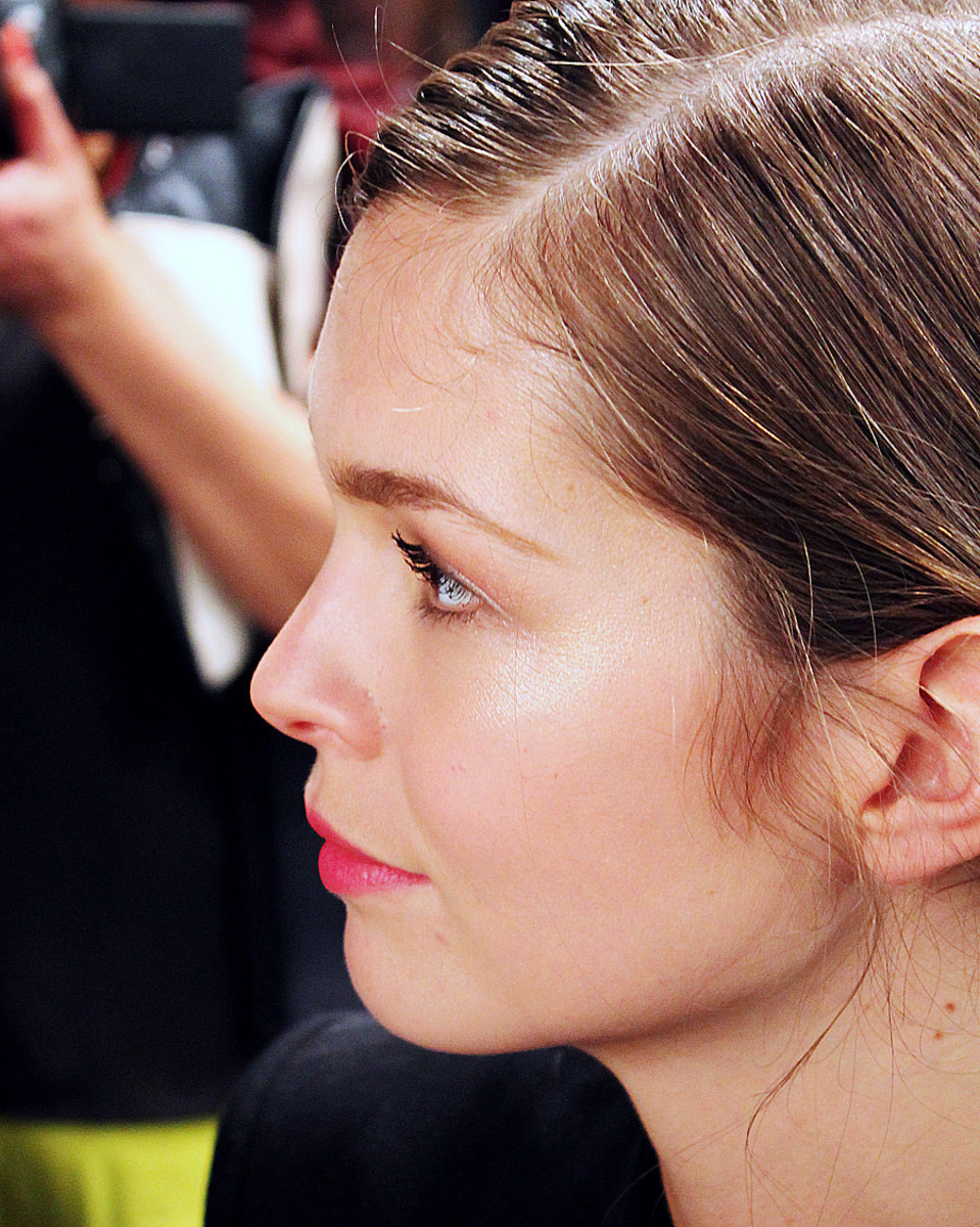 pretty girl makeup_david dixon backstage beauty wmcfw_stephanie