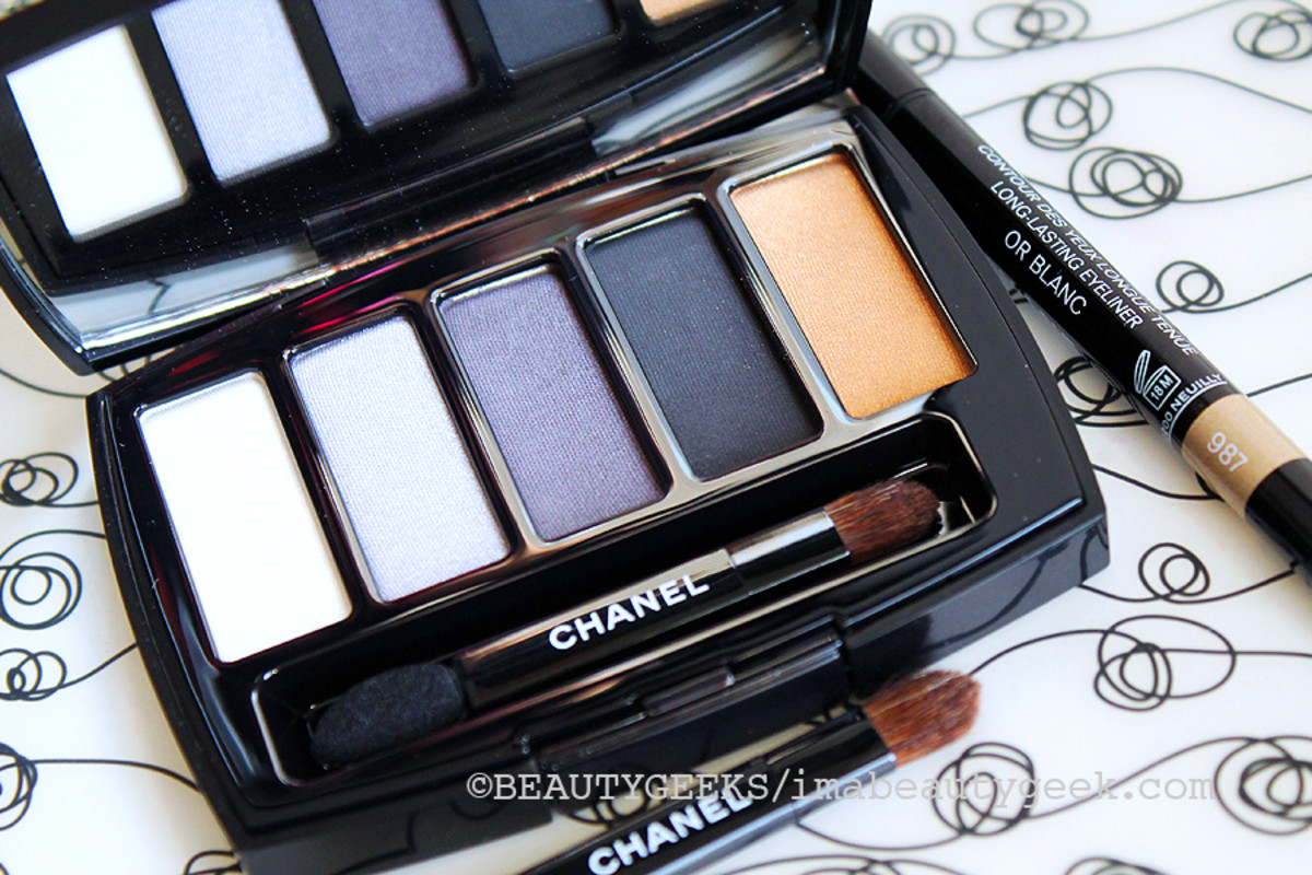 Chanel Holiday 2014_Les 5 Ombres de Chanel Oiseaux de Nuit eyeshadow palette