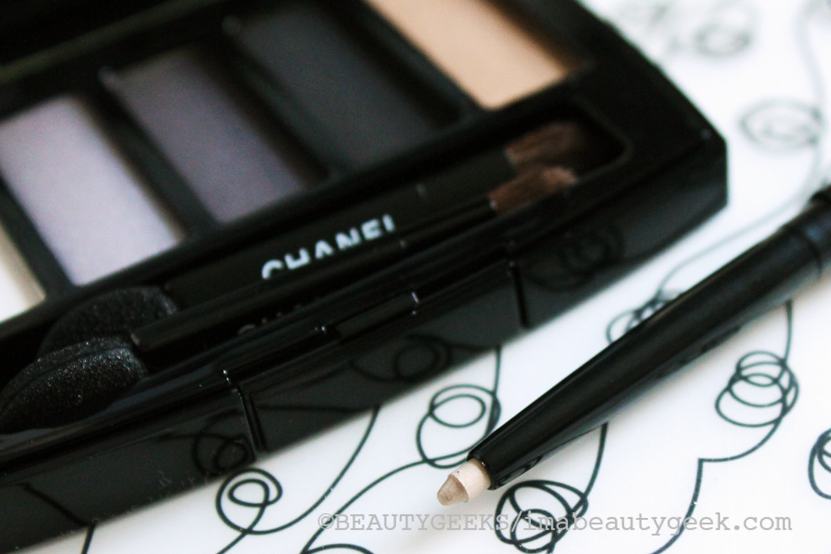 Chanel Holiday 2014_Or Blanc waterproof eye pencil