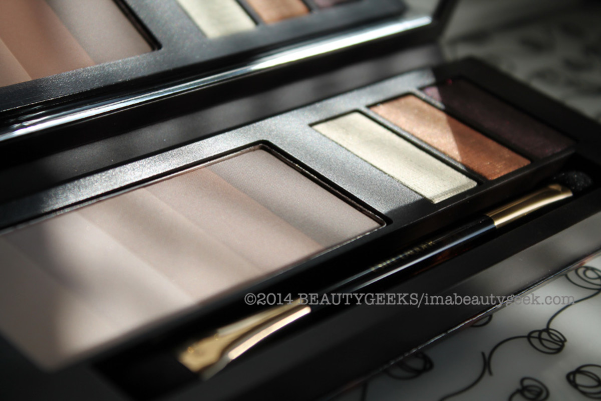 Estee Lauder Bronze Goddess Nudes eye shadow palette summer 2014