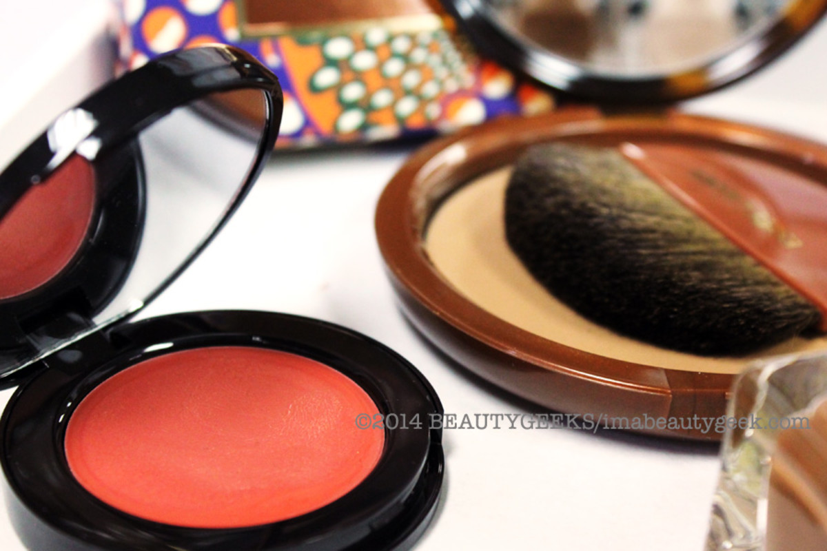 Estee Lauder Bronze Goddess Cheek Glow and Bronze Goddess Powder Bronzer