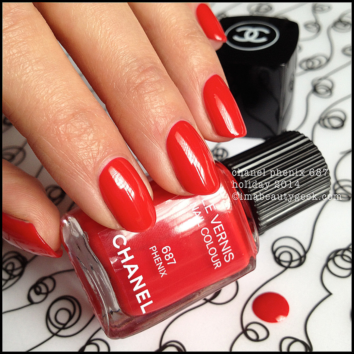 Chanel Phenix 687 Le Vernis_Chanel Holiday 2014