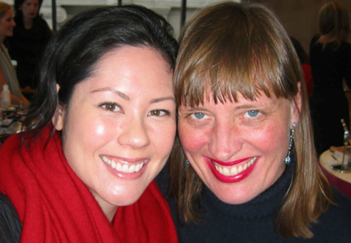 Janine Falcon and Charlotte Willer