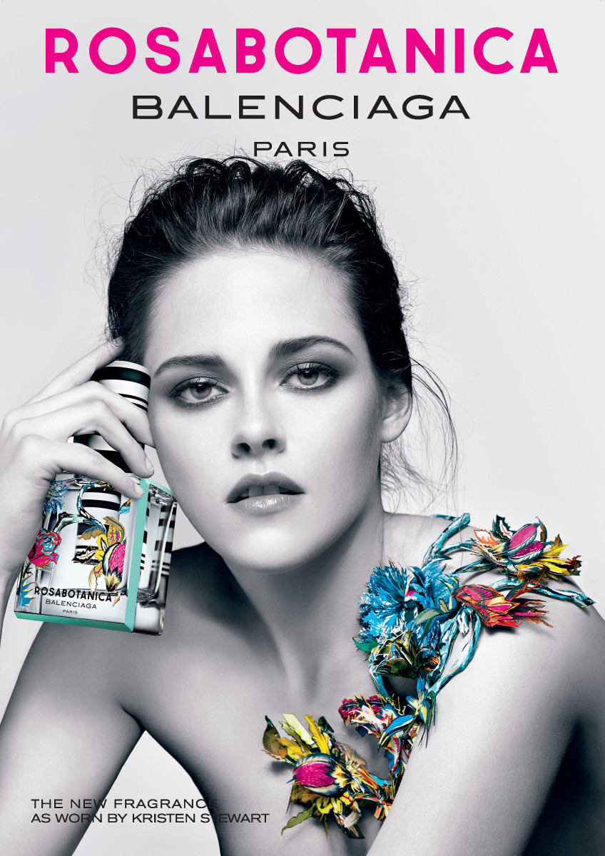 Kristen Stewart's smoky eyes_Kristen Stewart makeup Balenciaga_Rosabotanica Magazine_Ad_HR