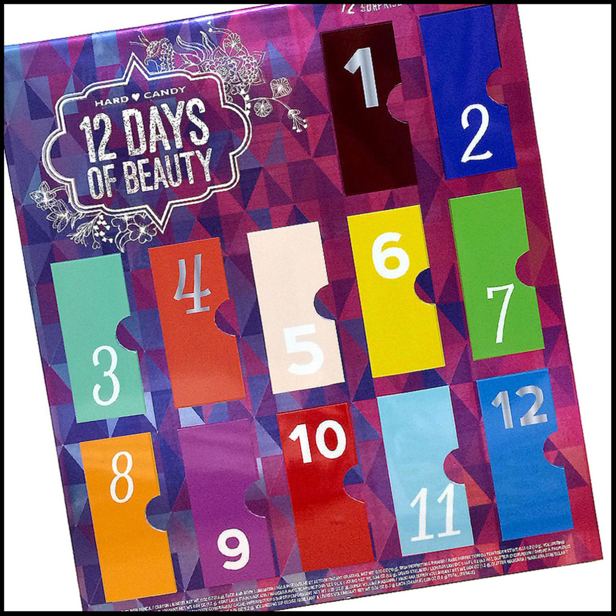 advent calendars 2014_Hard Candy 12 Days of Beauty_pseudo advent calendar 2014