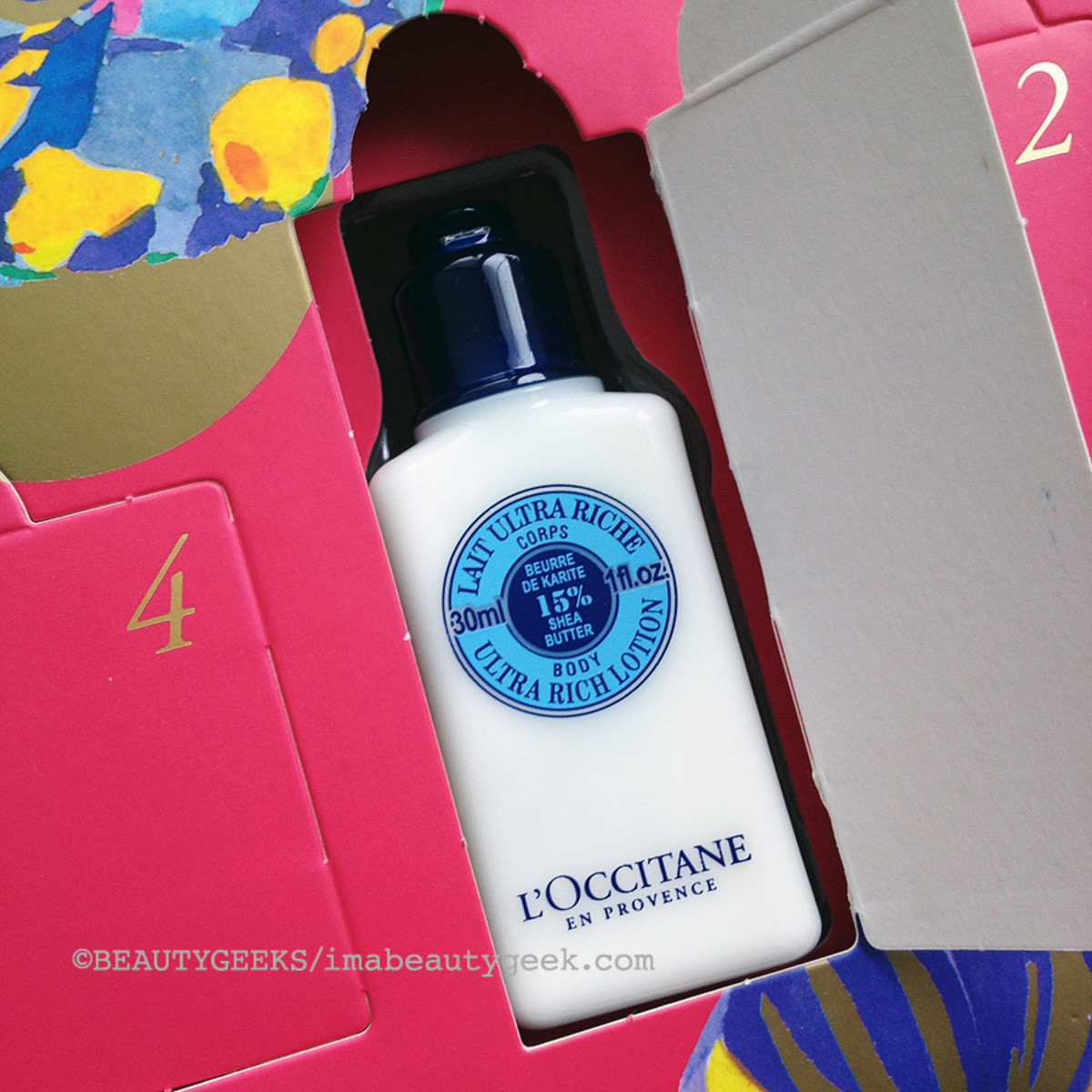 advent calendars 2014_L'Occitane 13 desserts of Provence_psuedo advent calendar
