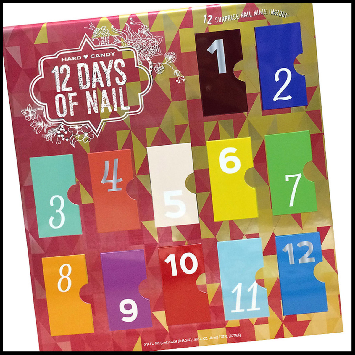 advent calendars 2014_Hard Candy 12 Days of Nail_pseudo advent calendar 2014