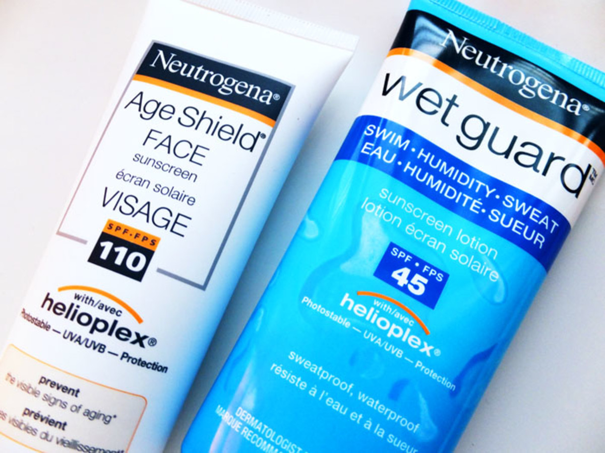 SPF for those who don't put on enough_Neutrogena Age Shield 110_Neutrogena Wet Guard for wet skin