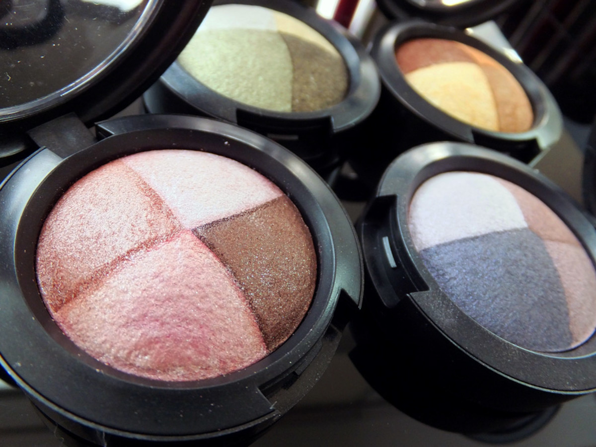 MAC Pink Sensibilities Mineralize eye shadow_MAC In the Meadow Mineralize eye shadow_MAC Golden Hours Mineralize eye shadow_MAC Great Beyond Mineralize Eye Shadow_MAC Fantasy of Flowers