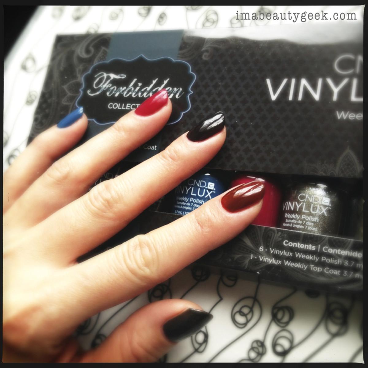 CND Vinylux review_Vinylux Forbidden Collection Left