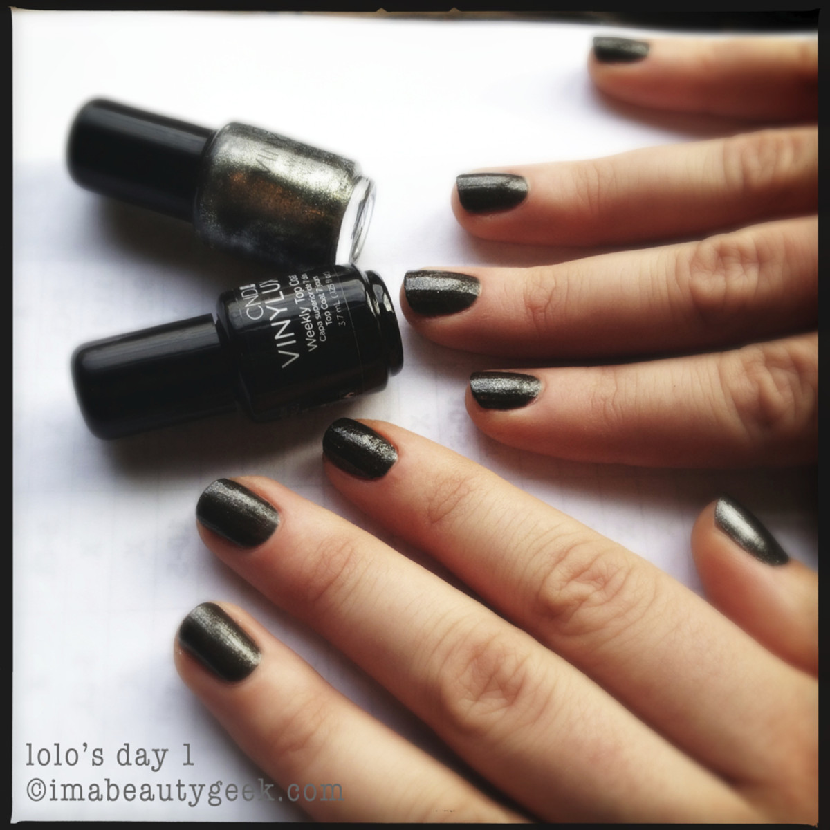 CND Vinylux review_Vinylux Forbidden Collection LoLo Day 1