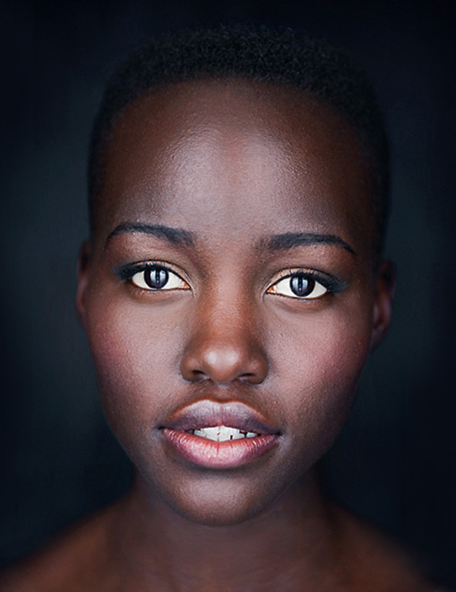 Lupita Nyong'o studio photo