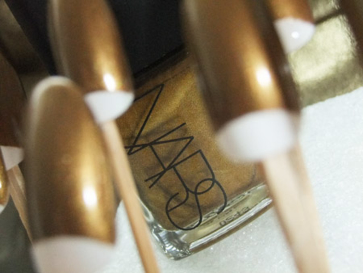 NARS nail polish in Desperado
