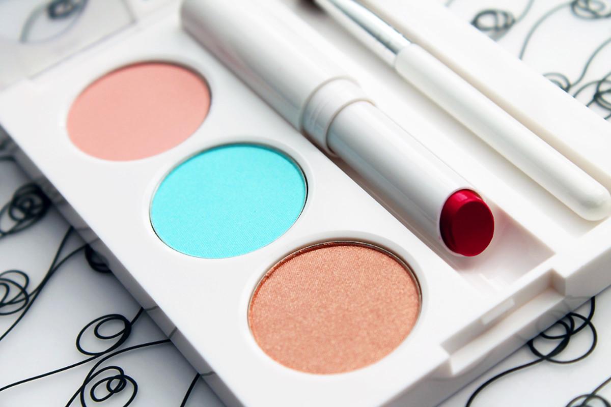 Joe Fresh Eye and Lip Palette Riviera Sky_Joe Fresh Spring 2014 makeup