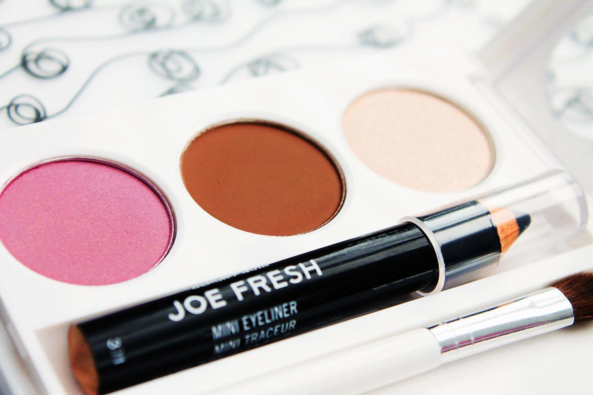 Joe Fresh Eye Palette Hypnoticeye_Joe Fresh Spring 2014 makeup