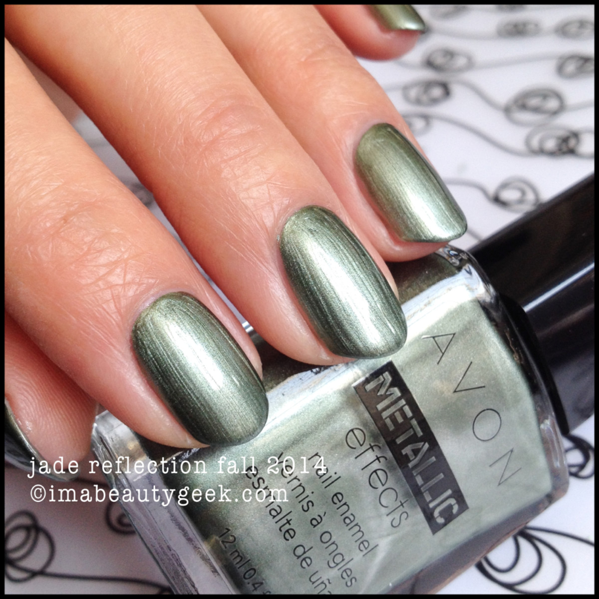 Avon Polish Fall 2014 Jade Reflection Metallic Effects
