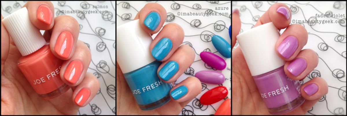 joe fresh spring 2014 makeup_nails