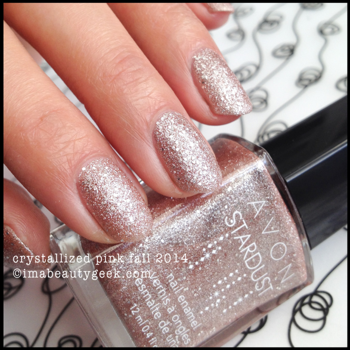 Avon Stardust Crystallized Pink Fall 2014