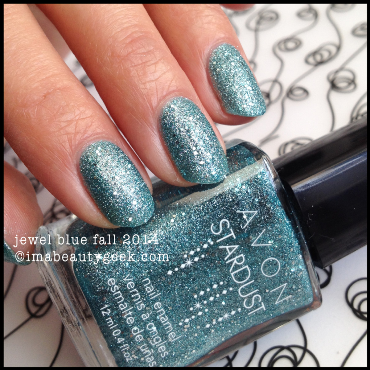 Avon Stardust Jewel Blue Fall 2014