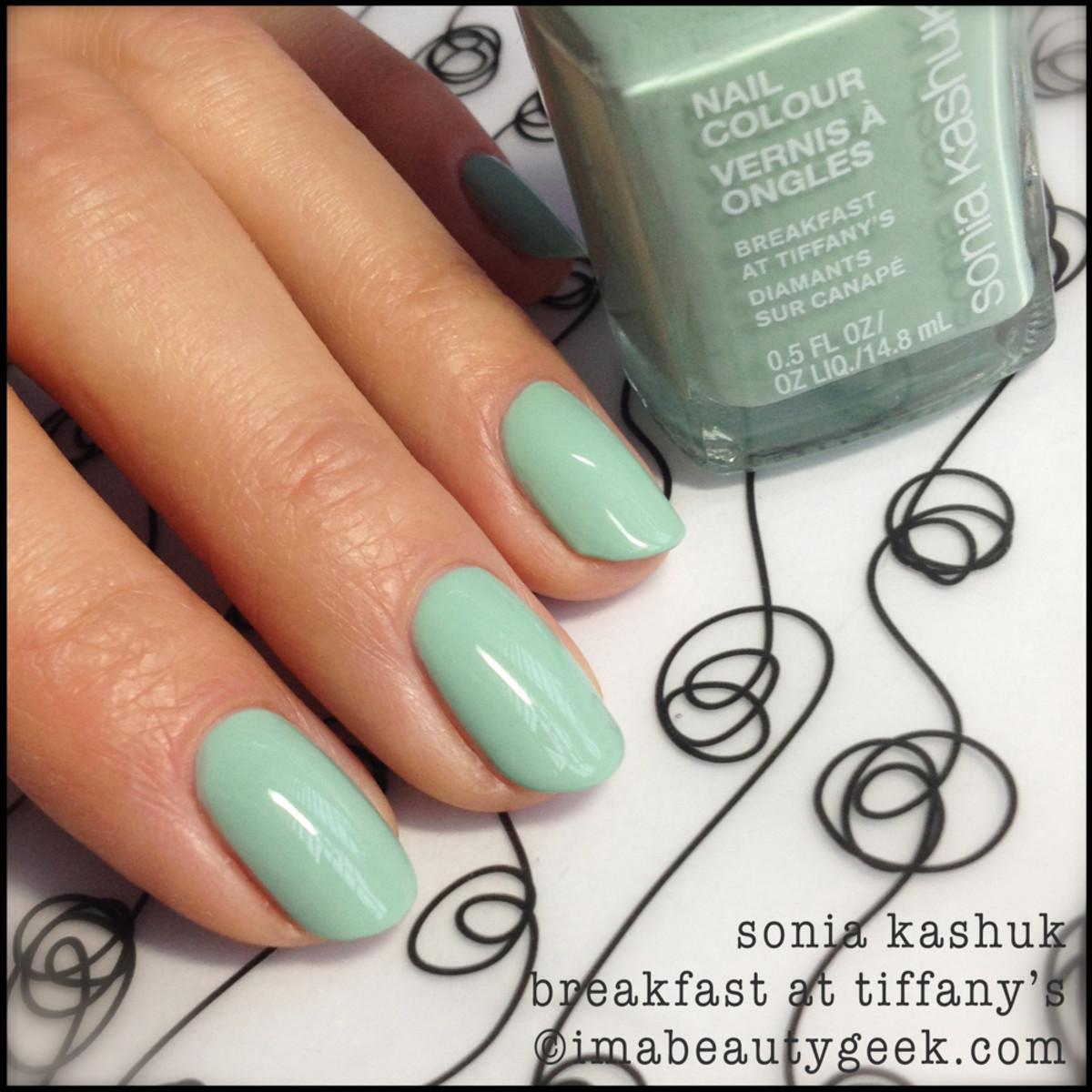 Sonia Kashuk Breakfast at Tiffanys_Sonia Kashuk nail polish Spring 2014