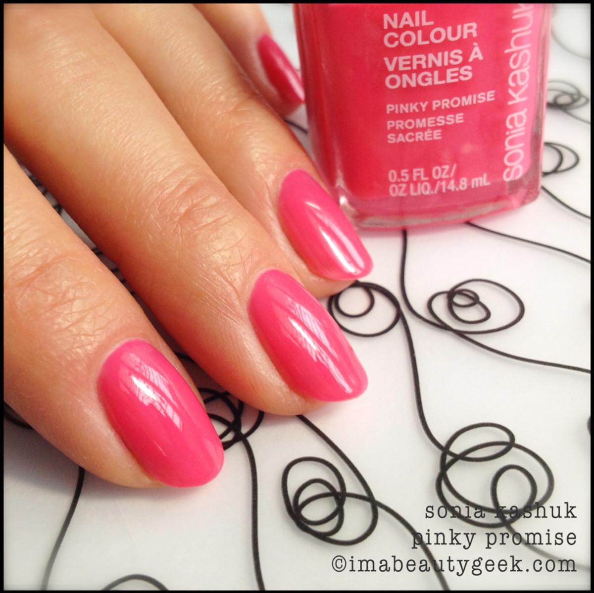 Sonia Kashuk Pinky Promise_Sonia Kashuk nail polish Spring 2014