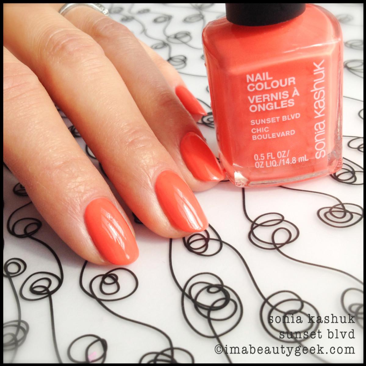 Sonia Kashuk Sunset Blvd_Sonia Kashuk nail polish Spring 2014