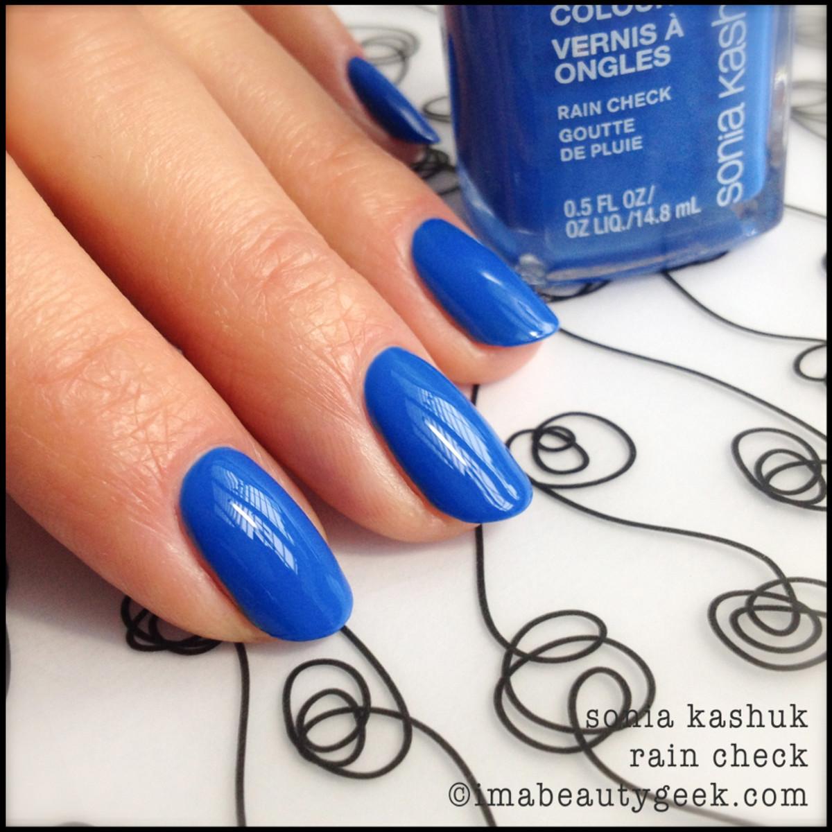 Sonia Kashuk Rain Check_Sonia Kashuk nail polish Spring 2014